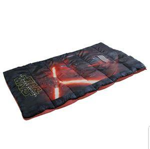 Kylo Ren Kid's Camp Sleeping Bag - Star Wars